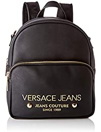 4c92d4252c Versace Jeans Couture Bag, Borsa a Zainetto Donna, (Nero), 11x23x25,