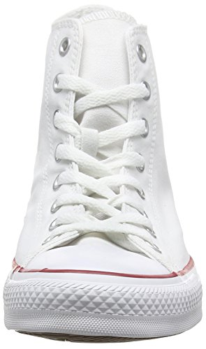 Converse Unisex-Erwachsene Chuck Taylor All Star-Hi High-Top Weiß (Optical White)