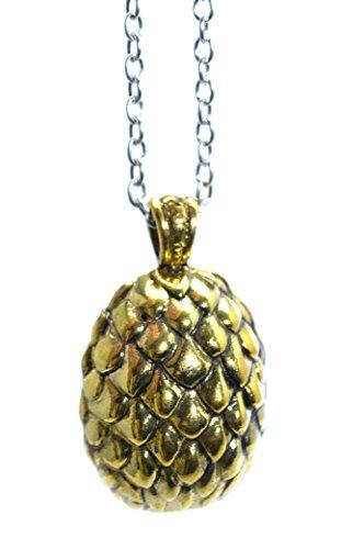Goldene Drache Ei Pendant Game Of Thrones Halskette Khal Khaleesi Gadgets Ei