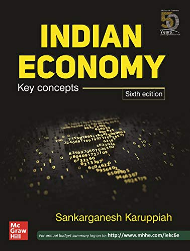 Indian Economy Key Concepts | Sixth Edition (English)