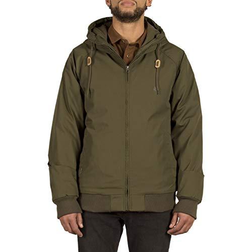 Volcom Herren Hernan Winterjacke, Military, M Snowboard Shop Oxford