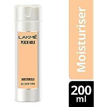 Lakme Peach Milk Moisturizer Body Lotion, 200 ml