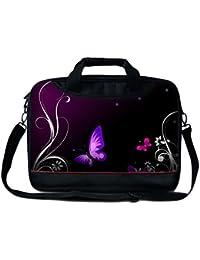 """Luxburg® 15"""" Sac à Bandoulière/ Business bag pour ordinateur portable avec poignée"""