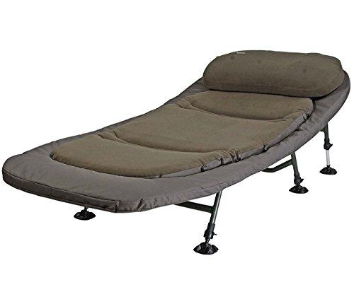 MAD Legion Bedchair, 6 Bein Alu Liege, 212x90x40 centimeter mit DAM Transporttasche, 8471112
