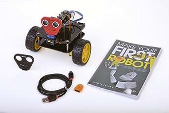"VKK Robotics DIY Arduino Based Programmable Robot with ""Make Your First Robot"" Book"