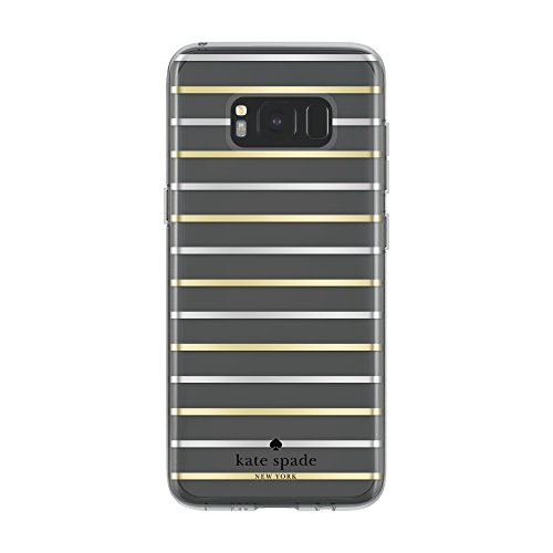 kate-spade-new-york-coque-dure-pour-le-samsung-galaxy-s8-transparent-rayures-or-argent