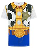 Disney Toy Story Woody Costume Men's T-Shirt (L)