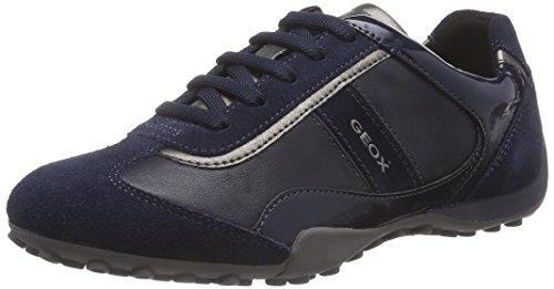 Geox Damen D Snake B Sneaker, Blau (NAVYC4002), 42 EU Geox Trainer