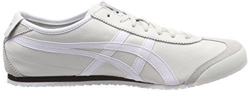 Asics Mexico 66, Sneaker Unisex – Adulto Grigio (Vaporous Grey/white 9001)
