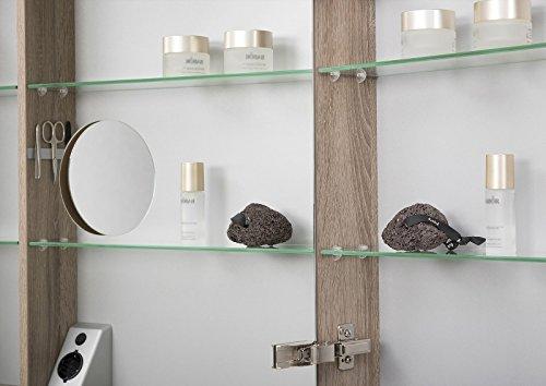 Spiegelschrank doppelt verspiegelt – 80 cm - 4