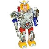 Shop & Shoppee Musical Walking Robot With LED Lights Moving Fan (Multicolor)