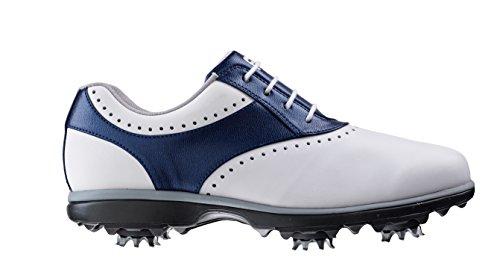 Foot-joy Scarpe da Golf Donna Multicolore Bianco/Blu 38 (M)