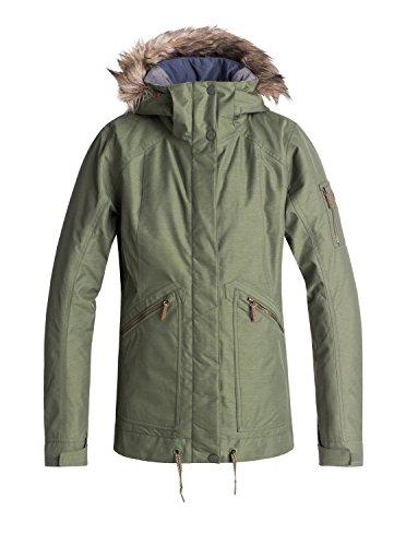 Roxy Meade - Snow Jacket for Women - Snow Jacke - Frauen - S - Grün