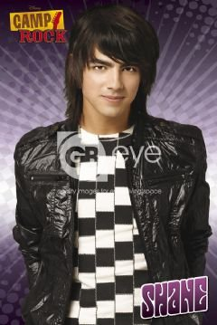 eLITe Camp Rock Shane Joe Jonas Leder Jacke Close Up Große Film Film Poster - 61 x 91,5 cm