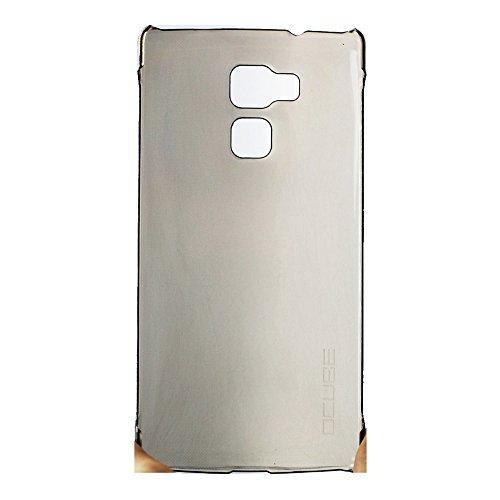 Tasche für Vernee Apollo Lite Hülle, Ycloud Handy Backcover Kunststoff-Hard Shell Case Handyhülle mit stoßfeste Schutzhülle Smartphone Grau