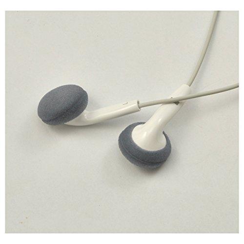 12 Paar (24 Stück) Schaumstoff Kopfhörer Ohrpolster Ersatz-Schwamm für Kopfhörer (Grau) - 5