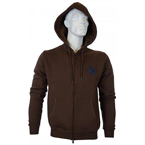 us-polo-assn-dbl-horse-zip-brown-hoodie-l