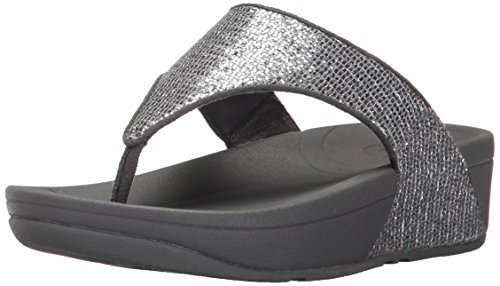 Fitflop Women's Lulu Superglitz Textile Sandal