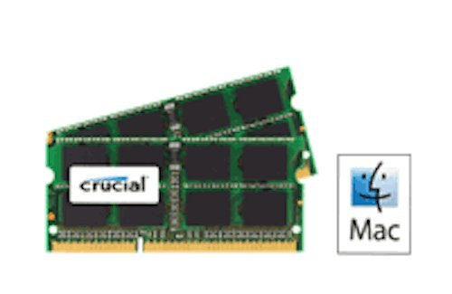 Compatible upgrade 16GB kit (2 x 8GB) DDR3 PC3-12800, 1600MHz SODIMM for the Apple MacBook Pro 2.9GHz Intel Core i7 (13-inch DDR3) Mid-2012