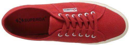Superga 2750-Cotu Classic, Sneakers Basses Unisexe adulte Rouge (975 Red)
