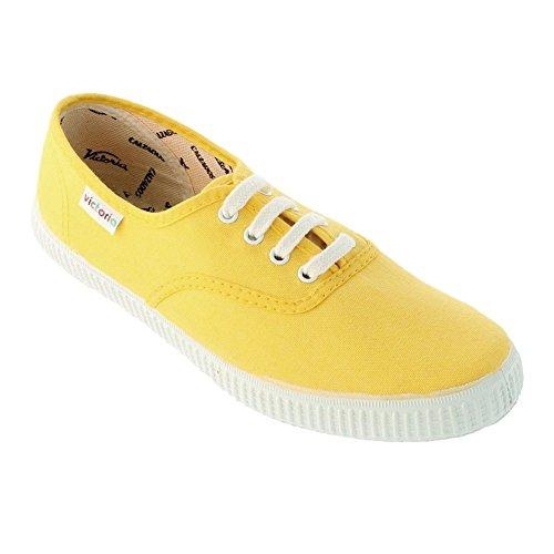 Victoria Chaussures de basket-ball pour homme Jaune