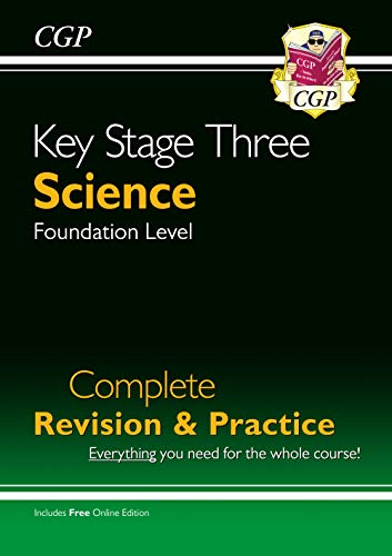 New KS3 Science Complete Study & Practice - Foundation (with Online Edition)