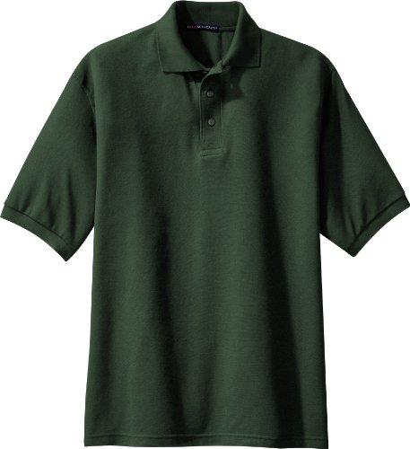 NEW Port Behörde Silk-Touch Sport T-Shirt Harvest Gold, M Dunkelgrün