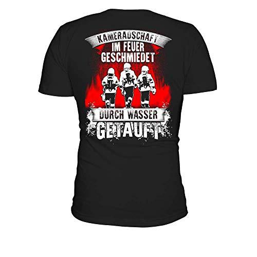 Kameradschaft Im Feuer Geschmiedet Männer T-Shirt