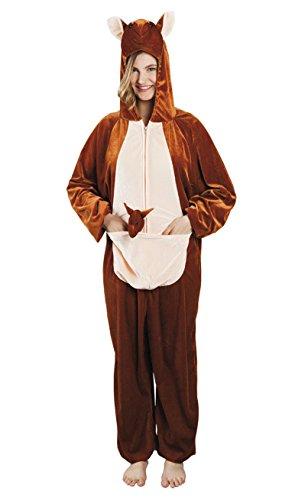 enenkostüm Känguru aus Plüsch, XL (Kostüme Perücken Australien)