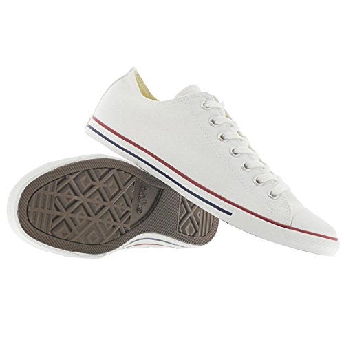 Converse Ctas Core Ox, Baskets mode mixte adulte Blanc optique