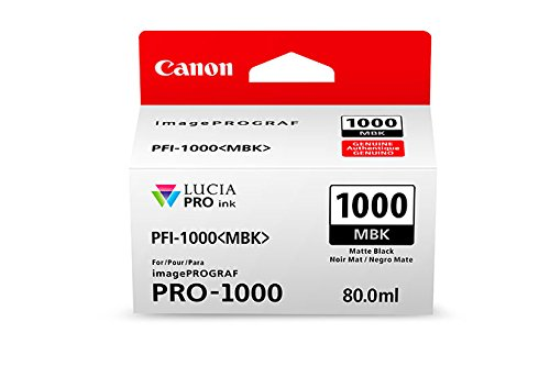 Preisvergleich Produktbild CANON PFI-1000mbk Tinte matt schwarz Standardkapazität 80ml 1er-Pack iPF1000