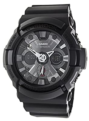 Casio GA-201-1A - Reloj (Pulsera, Masculino, Metal, Polymer, 3 Año(s), 5.25 cm, 5.51 cm)