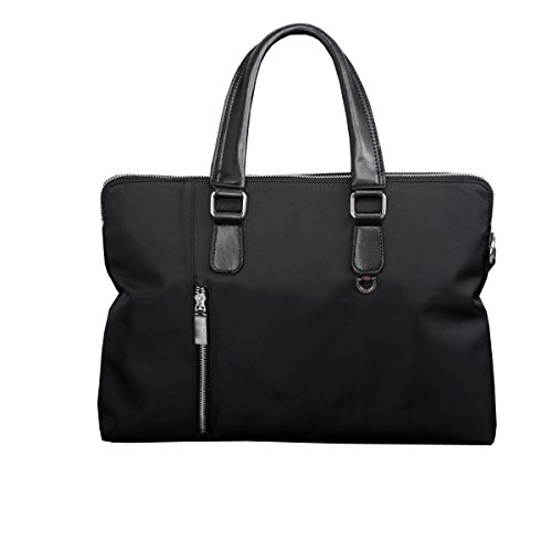 Männer Handtasche Oxford Tuch Business Aktenkoffer Bundle Leinentasche A4 Papiertüte Computer Tasche Hand Tasche Black