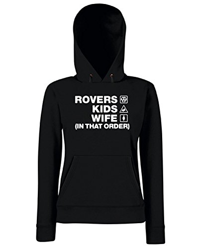 T-Shirtshock - Sweats a capuche Femme WC1127 bristol-rovers-kids-wife-order-tshirt design Noir