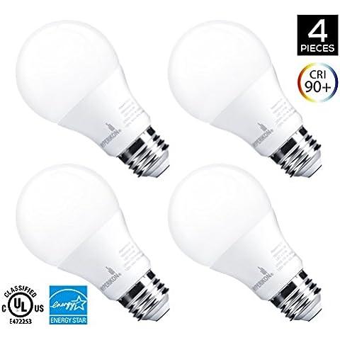 Hyperikon Lampadina LED E27 A60 (pari ad una lampadina da
