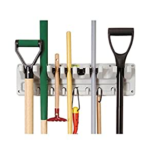 Keter Wall Mounted Tool Rack Amazon Co Uk Garden Amp Outdoors