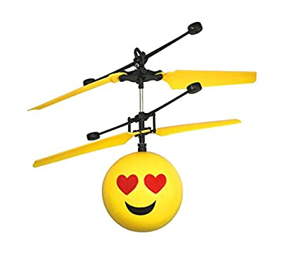 Emoji Flying Helicopter Drone Infrared Hand Controlled Game RC Toys Emoticons
