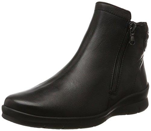 Semler Xenia, Damen Chelsea Boots, Schwarz (Schwarz), 40 EU (6.5 UK)