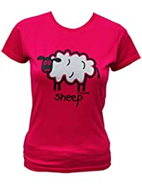 Womens sheep Pink T.shirt