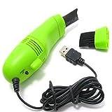 Best Computer Vacuums - Creatif Ventures New USB Brush Flexible Rubber Keyboards Review