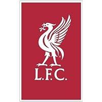 Offizielle lizenzierte Fußball Crest Team FC Teppich/Matte–rutschfeste Matte (Liverpool FC)