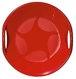 Red Circular Sledge