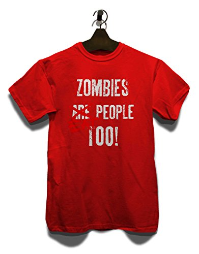 Zombies Eat People Too T-Shirt Rot