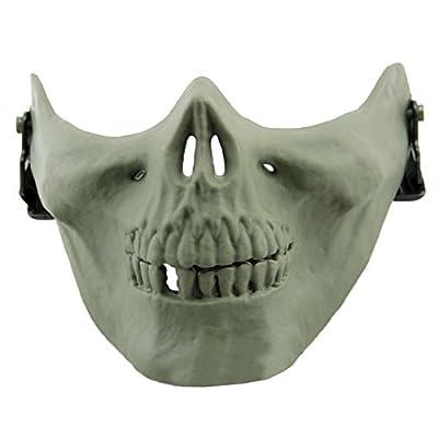 Neue Geister Sturmhauben Motorrad Radfahren Cosply Kostüm Schädel Skelett Maske von Codxer auf Outdoor Shop