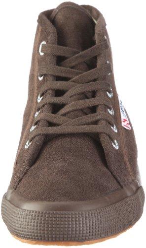 Superga 2095-Sueu Bordeaux Casual, Chaussures femmes Marron-TR-A4-105