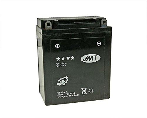 Batterie JMT GEL - YB12A-A 12 Volt [ inkl.7.50 EUR Batteriepfand ]