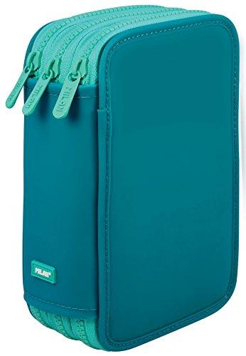 Estuche Milan Matt II Turquoise Triple 53 Piezas
