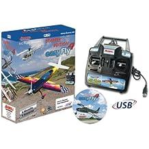 Jamara 65160 easyFly 4 - Videojuego de simulación de vuelo radio control (mando GC incluido) [importado de Alemania]