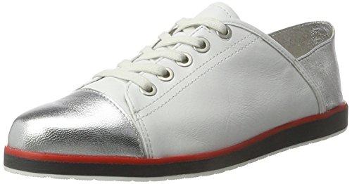 Lancaster Ara À argento Lacets Bianco Chaussures Bianco Femme f4HH6q