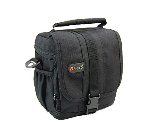 Wasserdicht Bridge Kamera und Compact System Schulter Kamera Tasche Halter für Panasonic Lumix DMC-GF5GH2GH3GF3GF6GX1G6GX7GM1G5GH4FZ150FZ200FZ48FZ62LZ20LZ30FZ72LZ40G7GF7; (Lumix Gf3 Kamera Tasche)